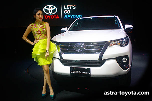 Harga Toyota All New Fortuner 2016 Jogja