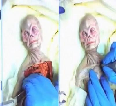 Corpo de extraterrestre