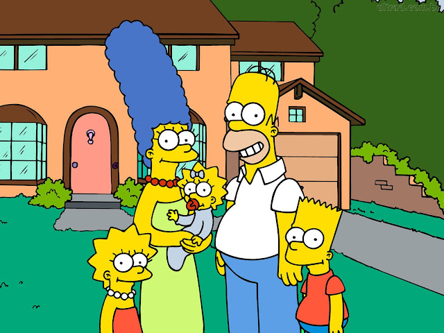 Edad de la familia Simpsons