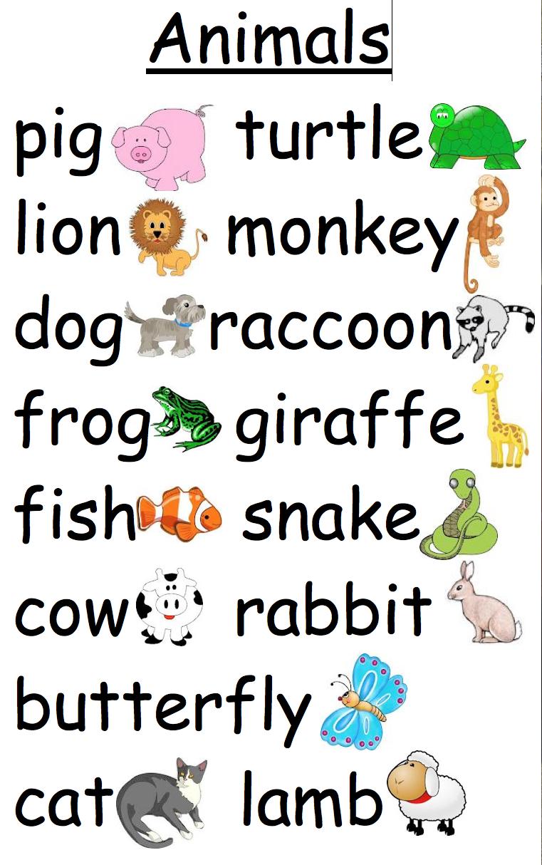 Letter Word Farm Animal