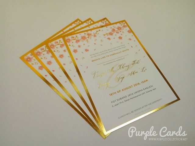wedding invitation card, printing, cetak, invites, formal, art card, matt, gold foil stamping, rose, kuala lumpur, selangor, malaysia, penang, ipoh, perak, perlis, kedah, kelantan, chinese, asian, elegant, unique, custom design, bentong, pahang, kuantan, special, johor bahru, muar, melaka, negeri sembilan, port dickson, terengganu, sabah, sarawak, kuching, miri, bintulu, labuan, kota kinabalu, australia, nsw, adelaide, sydney, canberra, cairns, new york, usa, paypal, global, personalise, personalize, designer, canada, vancouver, united kingdom, uk, printer, online, express, global, international, delivery