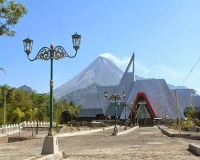 Museum Gunung Api Merapi Sleman.