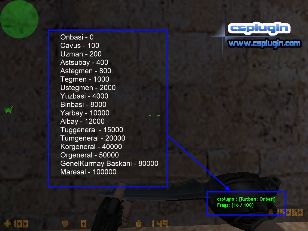 cs 1 6 rank display counter strike plugins
