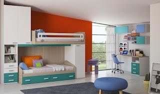 dormitorio juvenil dos chicas