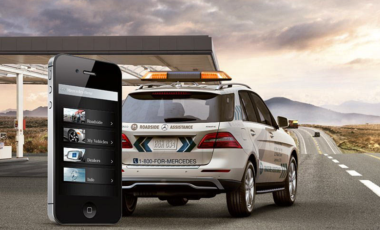 Mercedes-Benz Roadside Assistance APP