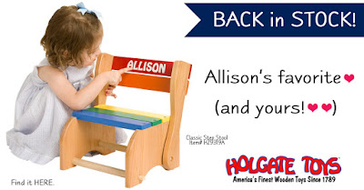 Classic Step Stool is Back in Stock at Holgate Toys!