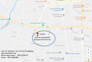 Jual Sparepart AC Kulkas Mesin Cuci Tulungagung