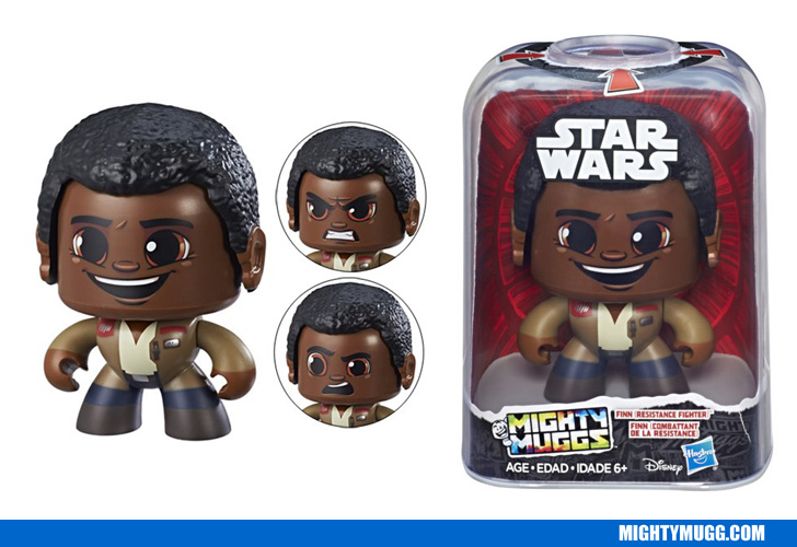 Finn Star Wars Mighty Muggs Wave 2 2018