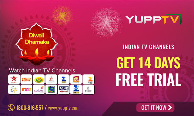YuppTV Diwali Offers