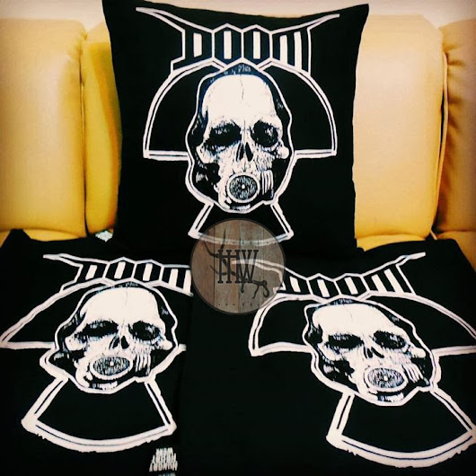 DOOM Cushions Available Now! | Hungry Heart Werk