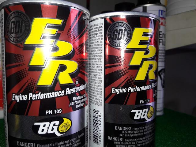 Cara pemakaian Engine Flush dan BG cleaner pada mobil