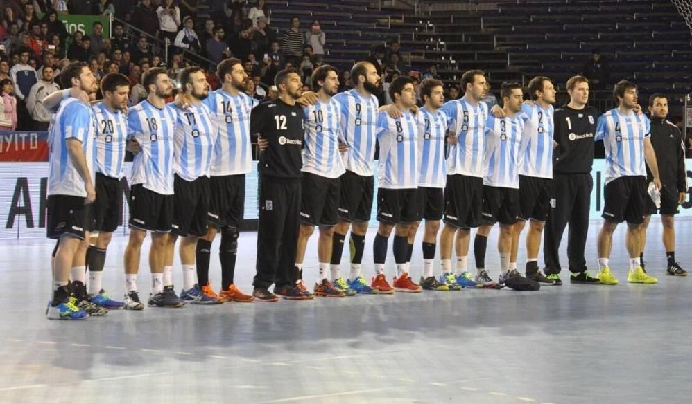 selección argentina handball 2017