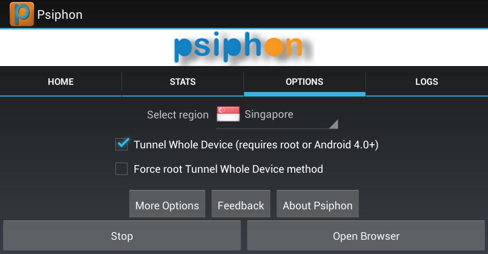 Psiphon globe hack