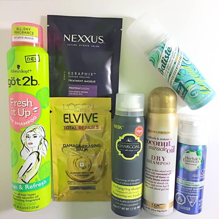 Walmart Beauty Favorites Box Refresh Renew Extend products