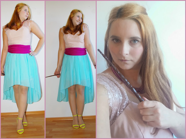 [Fashion] Costumes out of my Closet: Harry Potter: Ginny Weasley Yule Ball