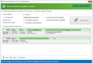 Macrorit Data Wiper 3.1.0 Unlimited Edition Full Keygen + Portable