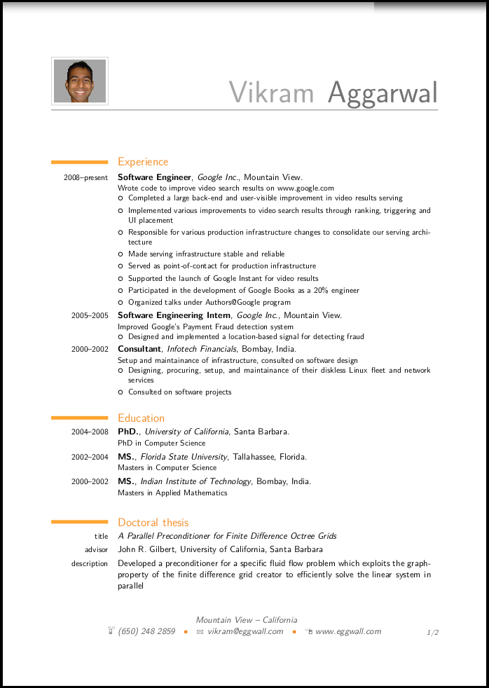 Academic Cv Examples. Academic Cv Template Samples Professional