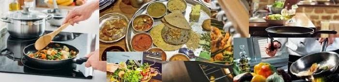 रसोई में फल, सब्ज़ी, रेसिपी, मसलो की जानकारी