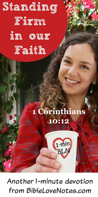 1 Corinthians 10:12, Dealing with sin in the church without falling ourselves