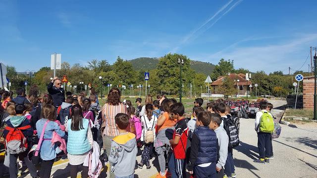 Γιάννενα: Με δεκάδες μαθητές από το Δημοτικό Σχολείο Μπάφρας στο Πάρκο Κυκλοφοριακής Αγωγής Δήμου Πωγωνίου