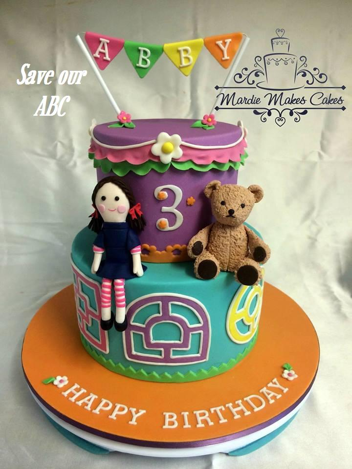Play School Jemima and Big Ted Cake Save Our ABC  Mardie Makes Cakes
