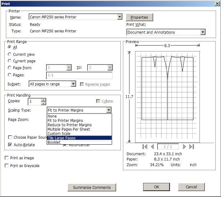 d328d88fb2 ciuchotwórstwo wszelakie  Drukowanie wykrojów na drukarce A4