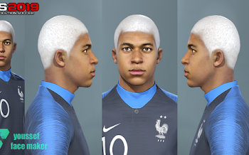 Kylian Mbappé | New Hair | PES2019 | PC | By Youssef