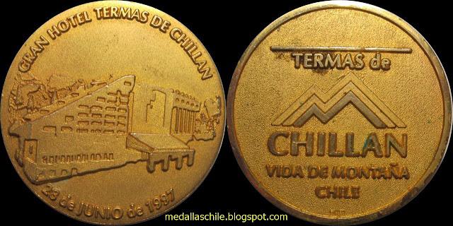 Medalla Gran Hotel Termas de Chillán