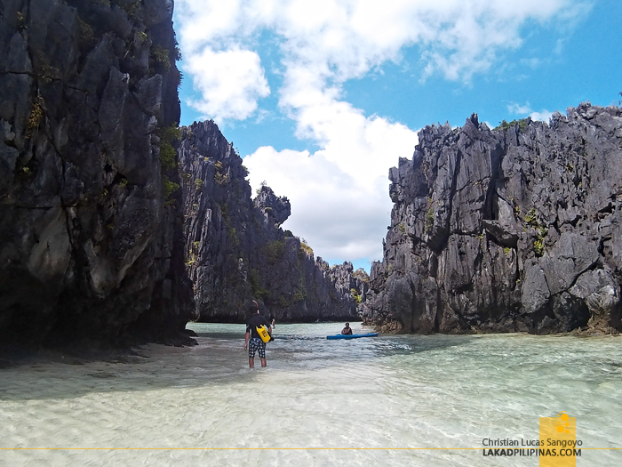 El Nido Island Hopping Tour A C Hidden Beach