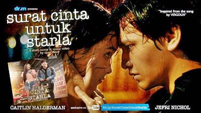 Dirilis 28 Desember Film Surat Cinta Untuk Starla The Movie