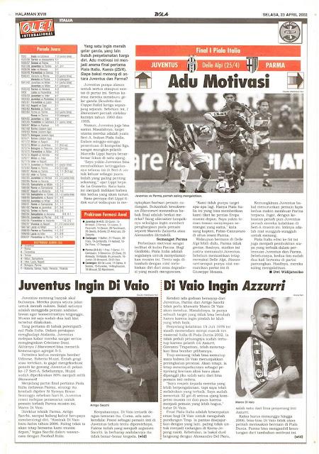 FINAL I PIALA ITALIA JUVENTUS VS PARMA ADU MOTIVASI