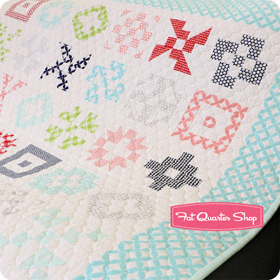 Patchwork Quilt Along with the Fat Quarter Shop