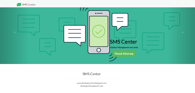 Download Aplikasi SMS Getway Berbasis Web [SMSCenter]
