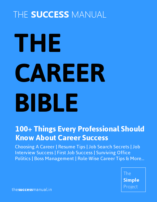 the career bible is the ultimate all in one collection of proven career advice collected from the best career advice books and experts - Career Advice Career Tips From Professional Experts