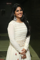 Megha Akash in beautiful White Anarkali Dress at Pre release function of Movie LIE ~ Celebrities Galleries 025.JPG