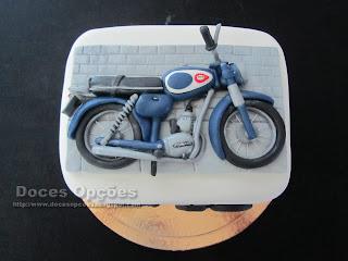 bolo Zündapp moto antiga
