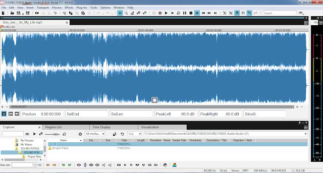Download Magix Sound Forge Audio Studio 12.6.0.352 Full Version