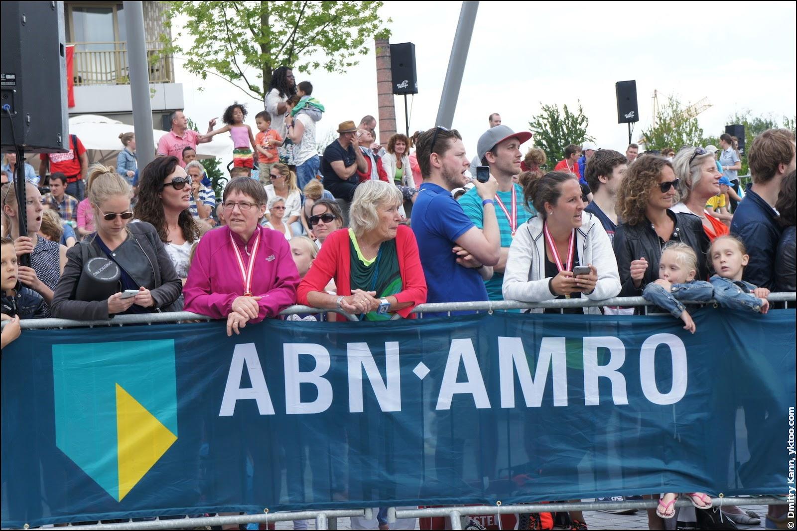 Marathon Amersfoort: finish line.