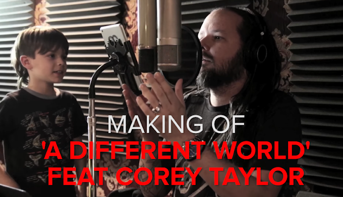 "Korn muestran como grabaron ""A Different World"" con Corey Taylor"