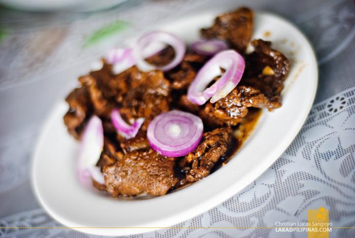 Carne Frita at Vbots Lutong Bahay