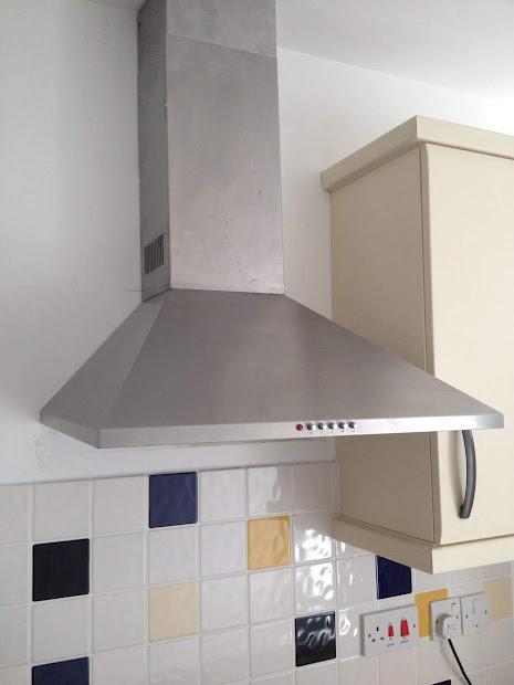 Penghisap Asap Dapur Cerobong Exhaust Fan