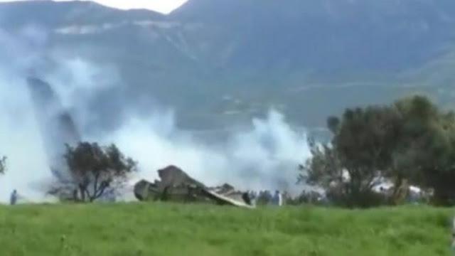 Συνετρίβη στρατιωτικό αεροπλάνο με 100 επιβαίνοντες (βίντεο)