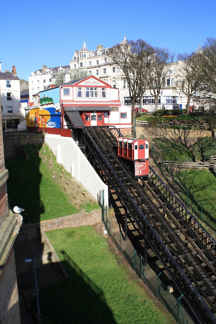 Cliff Lift, Cliff Railway, South Bay Scarborough