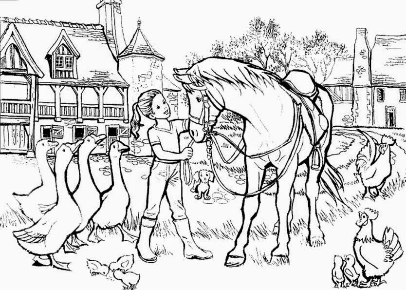 malvorlagen gratis : malvorlagen pferd