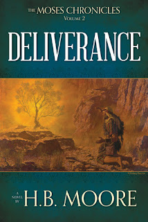 Heidi Reads... Deliverance (The Moses Chronicles) by H.B. Moore