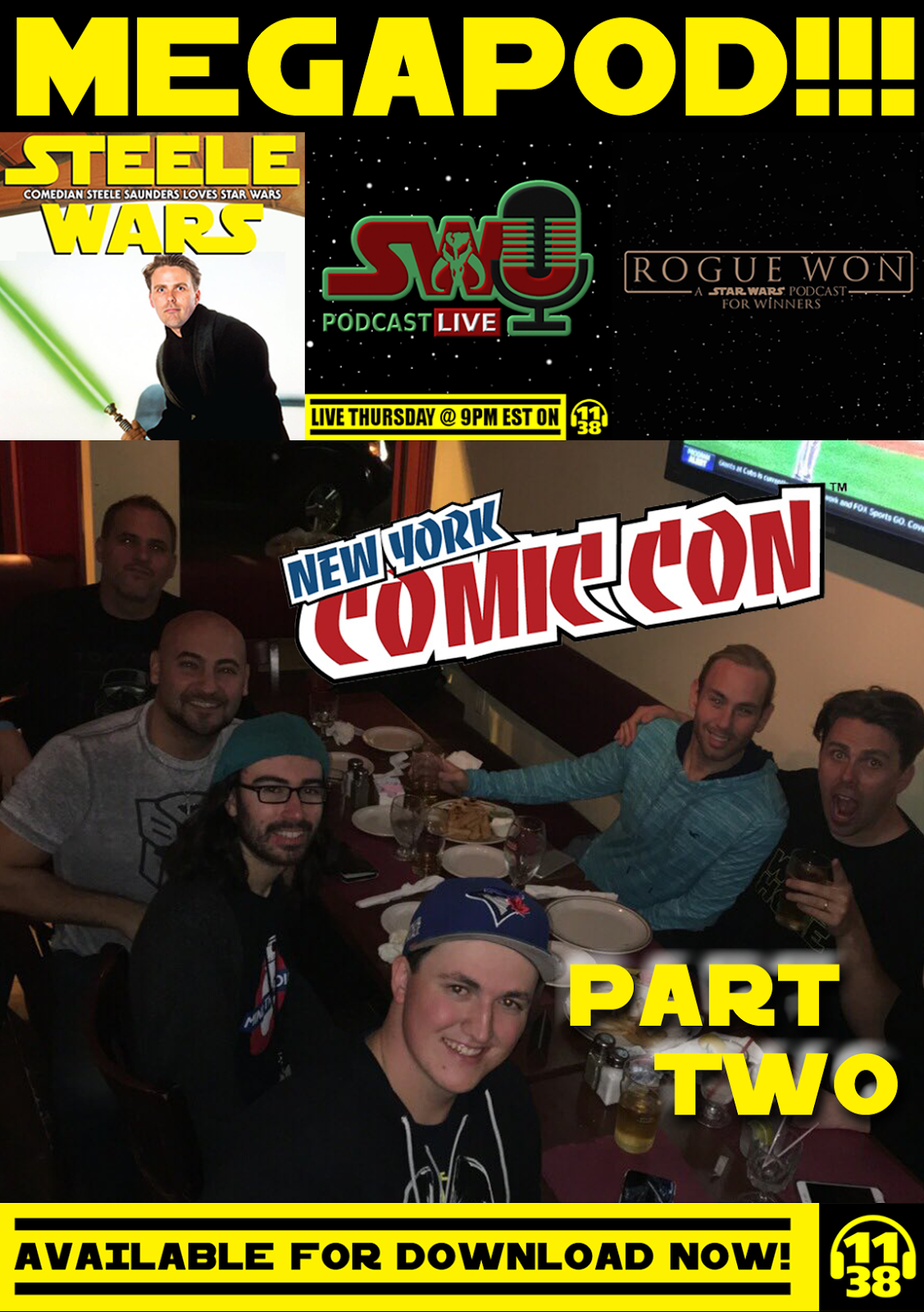 Join Dominic And Chris Of The SWU Podcast Johnny Mike Rogue Won A Star Wars For Winners Steele Saunders