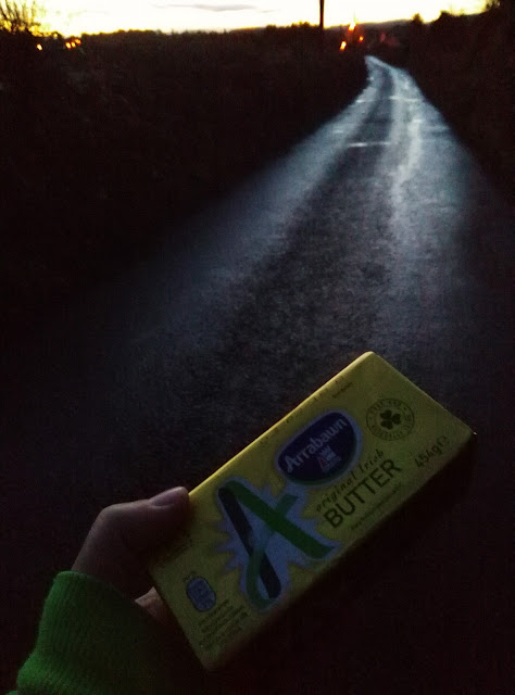 photo of a pack of butter