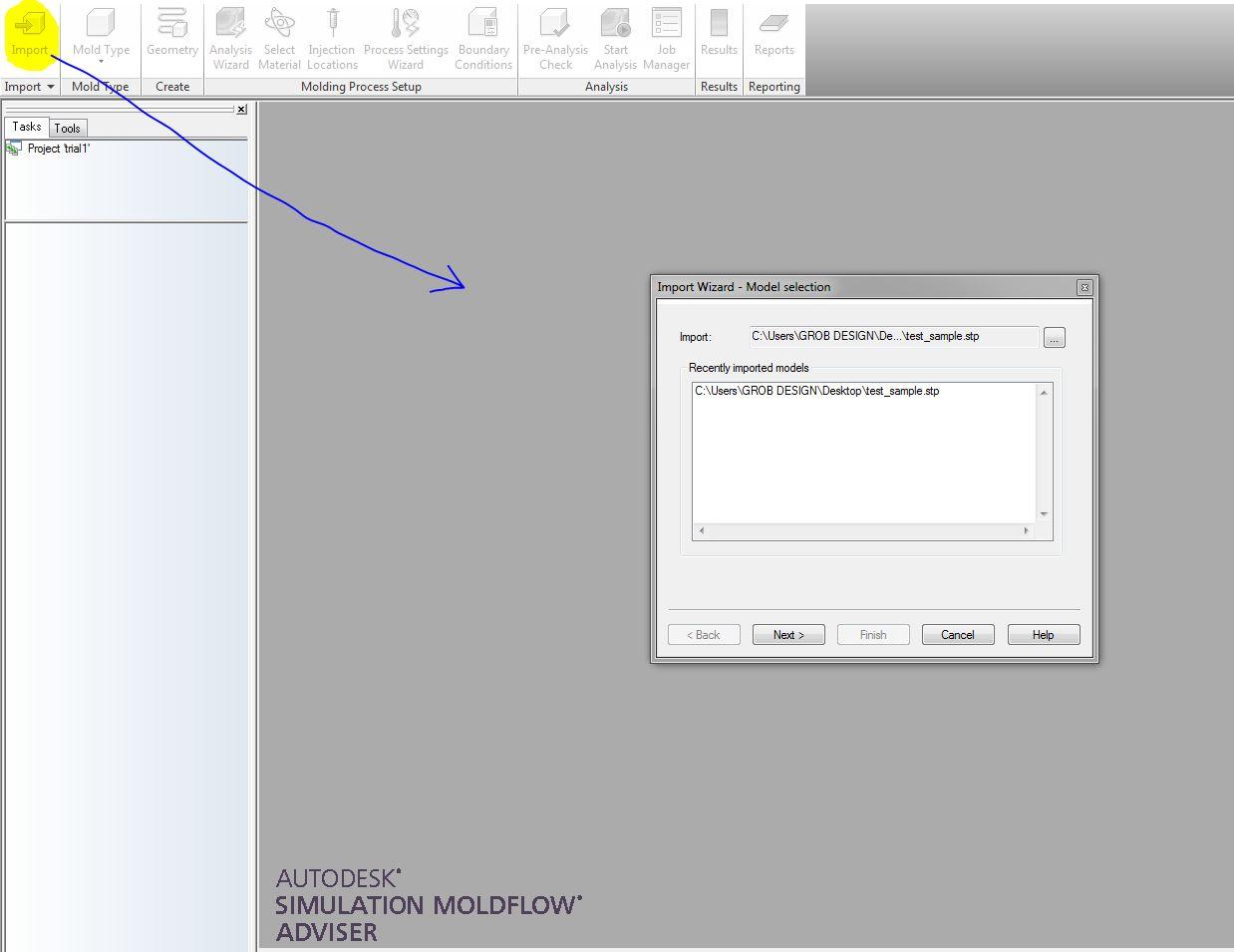 Tutorial 1 Plastic Injection Molding (PIM) using Autodesk