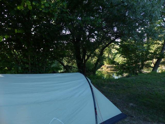 Kroatien Urlaub Roadtrip Zelten Camping Slapic Fluß
