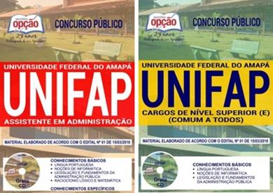 Apostila Concurso UNIFAP 2018